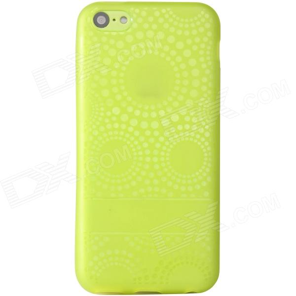 Baseus Stylish Silicone Back Case for IPHONE 5C - Green
