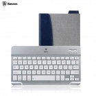 Baseus LTBLUEKD-TO0G Tron Series Bluetooth V3.0 64-Key Keyboard w/ USB 2.0 - Grey + Silver