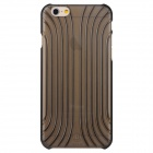 Shell Style PC Back Case for IPHONE 6 - Translucent Black