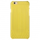Baseus LSAPIPH6-BC0Y Shell Style Protective PC Back Case for IPHONE 6 - Translucent Yellow