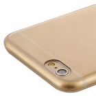 Baseus ARAPIPH6-0V Protective Soft TPU Back Case for IPHONE 6 - Champagne Gold