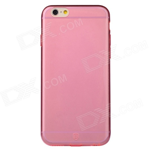 Baseus ARAPIPH6-04 Protective Soft TPU Back Case for IPHONE 6 - Translucent Pink