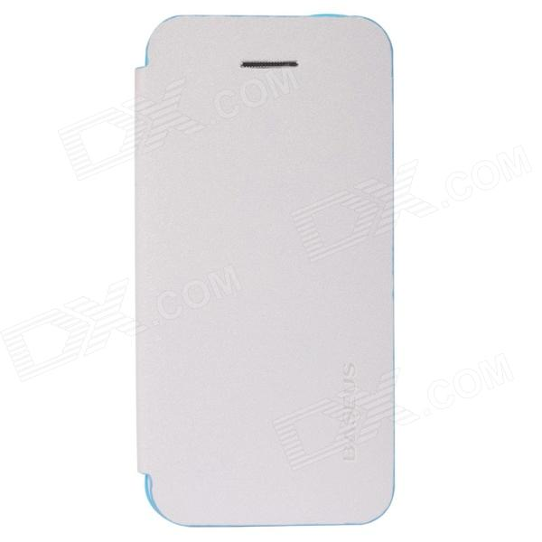 все цены на Baseus LTAPIHMINI-MC02 Protective Leather Case for IPHONE 5C - White онлайн