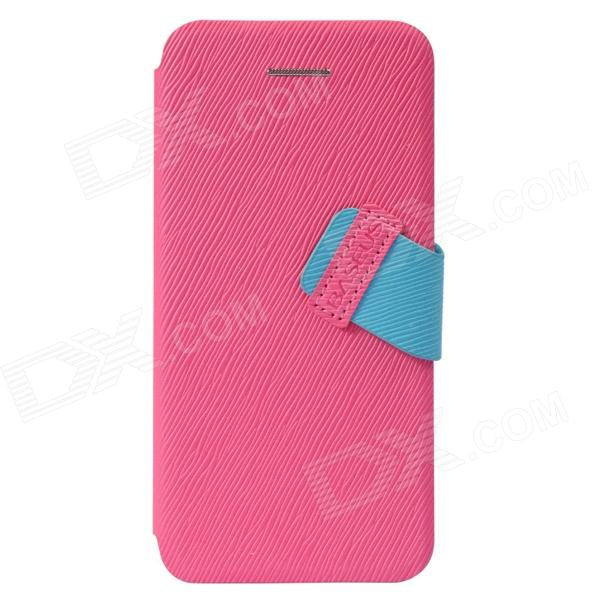 все цены на Baseus Faith Protective PU + PC Case for IPHONE 5C - Deep Pink онлайн