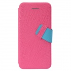 Baseus Faith Protective PU + PC Case for IPHONE 5C - Deep Pink