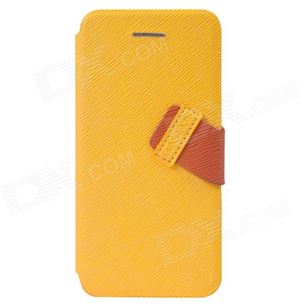 Baseus Faith Protective PU Leather Case for IPHONE 5C - Yellow