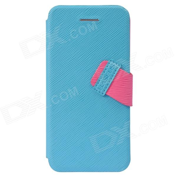 все цены на Baseus Faith Leather Case for IPHONE 5C - Cyan онлайн