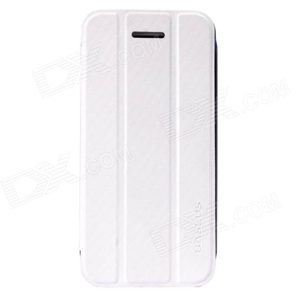 все цены на Baseus Protective Flip Open PU + PC Case w/ Stand for IPHONE 5C - White онлайн