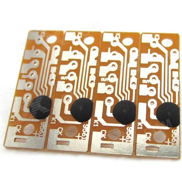 все цены на CK9561 DIY 4-Sound Voice Alarm IC Modules - Brown + Silver ( 4 PCS ) онлайн