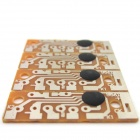 CK9561 DIY 4-Sound Voice Alarm IC Modules - Brown + Silver ( 4 PCS )
