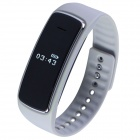 Aoluguya S9 Smart Bluetooth Phone Bracelet w/ OLED, Remote Taking Photo, Sports Monitor - Grey