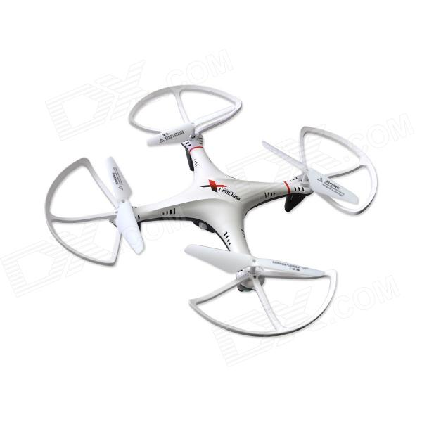 L6039 L6039 2.4GHz 4-CH Radio Control Outdoor R/C Quadcopter w/ Gyroscope - White + Black