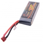 Fire Bull 4200mAh 7.4V 25C Li-po Battery for R/C Helicopter / Vehicle - Black
