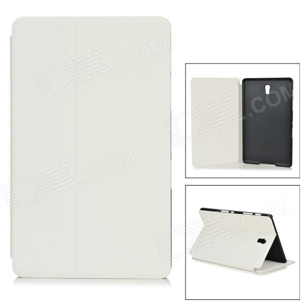 Protective Sand Pattern PU + PC Case w/ Stand for 8.4