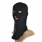 Outdoor Cycling Sun-proof Chinlon Face / Head Cover Mask Facekini - Black (Free Size)