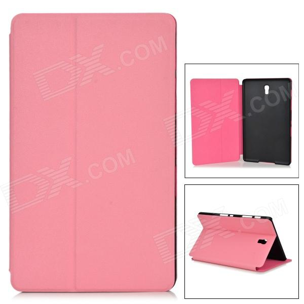 "Protective PU + PC Case w/ Stand for 8.4"" Samsung Galaxy Tab S T700 - Pink"