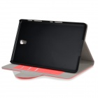 "Protective PU + PC Case w/ Stand for 8.4"" Samsung Galaxy Tab S T700 - Watermelon Red"