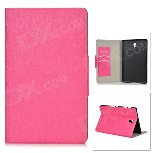 "Protective PU + PC Case w/ Stand for 8.4"" Samsung Galaxy Tab S T700 - Deep Pink"