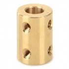 DIY 6mm to 8mm Coupler for R/C Car Boat Motor - Bronze