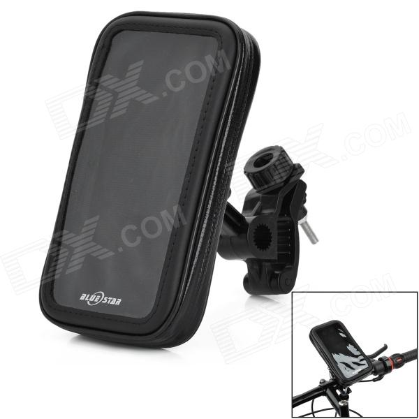 Bicycle Mount Holder + Waterproof Bag for LG G3 - Black