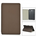 "Protective PU + PC Case w/ Stand for 8.4"" Samsung Galaxy Tab S T700 - Brown"