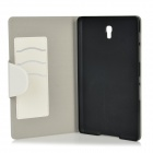 "Protective PU + PC Case w/ Stand for 8.4"" Samsung Galaxy Tab S T700 - White"