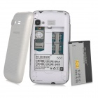 "M-Horse S51 Android 4.4 WCDMA Bar Phone w/ 3.5"" Capacitive, Wi-Fi, GPS, Bluetooth - White"