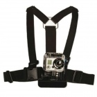 Genuine ISAW Chest Mount Strap for Sport Camera - Black