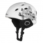 AIDY 618 Lightweight Comfortable PC + EPS Skiing Helmet - White