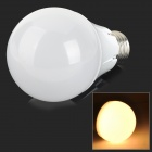 E27 7W 500lm 3000K 36-SMD 2835 LED Warm White Light Bulb - Silver + White (100~250V)