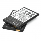 """3800mAh"" Batteries w/ Protected Core for LG G3 + More - Black (2PCS)"