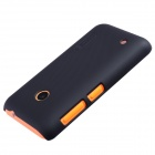 NILLKIN Matte Protective PC Back Case for Nokia Lumia 530 - Black