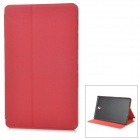"Protective Flip-Open Auto-Sleep PU + PC Case w/ Stand for 8.4"" Samsung Galaxy Tab S T700 - Red"