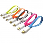 Soshine magnética plana Micro USB macho a USB 2.0 macho Data Sync / cable de carga (7 PCS / 20cm)