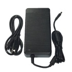 High-Quality 180W 19V 9.5A Power Adapter w/ US Plugs AC Power Cable for HP Laptops - Black