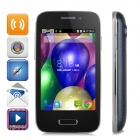 "M-Horse S51 Android 4.4 Dual-core WCDMA Bar Phone w/ 3.5"" Capacitive, Wi-Fi, GPS, Bluetooth - Black"