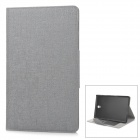 "Protective Flip-Open PU + PC Case w/ Stand + Card Slot for 8.4"" Samsung Galaxy Tab S T700 - Grey"