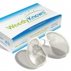 WoodyKnows IIR Ultra Breathable Nose / Nasal Filter for Hay Fever, Pollen & Dust Allergies - Silver