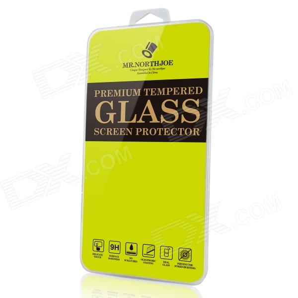 Mr.northjoe 0.3mm 9H 2.5D Tempered Glass Screen Protector for Sony Xperia C3 - Transparent lcd screen display touch digitizer with frame for huawei honor 7i not for honor 7 blue or white or gold free shipping