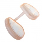 WoodyKnows Invisible Nose / Nasal Filters for Flu, Haze, Pollen & Dust Allergies - Light Pink (IIS)