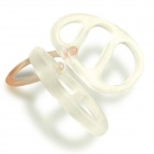 WoodyKnows Nasal Dilators for Nasal Congestion, Snoring, Sleep Apnea Relief - Translucent White