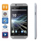 "M8 MT6572 Dual-Core Android 4.2.2 WCDMA Bar Phone w/ 4.3"" Capacitive, Wi-Fi, GPS, Bluetooth - White"