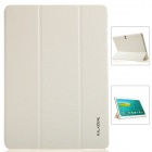 KALAIDENG Protective PU Leather Case Cover w/ Stand for Samsung Galaxy TAB S 10.5 T800 - White