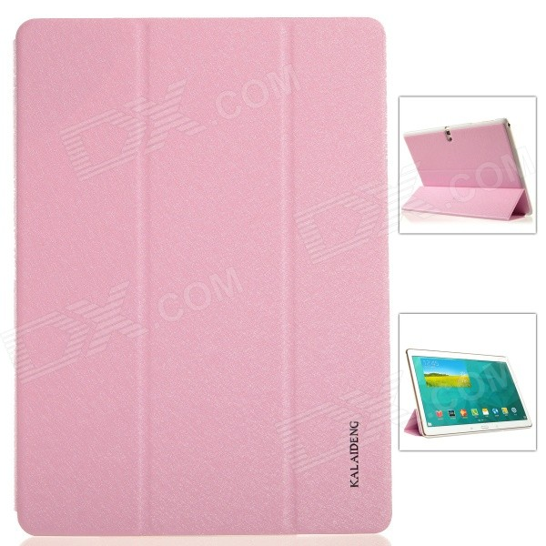 KALAIDENG Protective PU Leather Case Cover w/ Stand for Samsung Galaxy TAB S 10.5 T800 - Pink kalaideng protective pu leather case cover w stand for samsung galaxy note 4 black