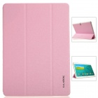 KALAIDENG Protective PU Leather Case Cover w/ Stand for Samsung Galaxy TAB S 10.5 T800 - Pink