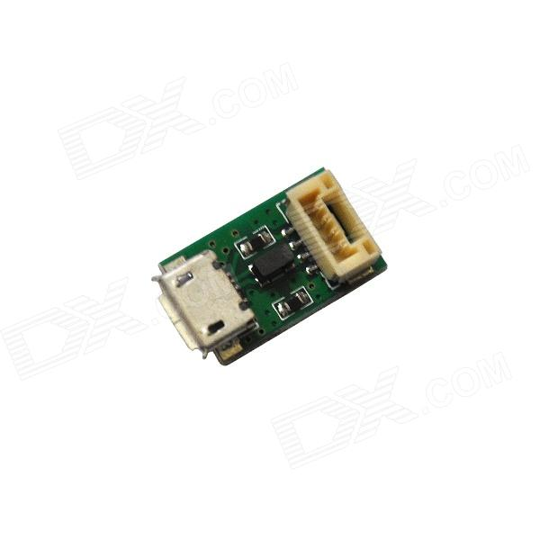 Walkera FPV TALI H500 R/C Hexacopter Spare Parts TALI H500-Z-19 USB Board - GreenOther Accessories for R/C Toys<br>Form  ColorGreenBrandWalkeraModelTALI H500-Z-19MaterialPCBQuantity1 DX.PCM.Model.AttributeModel.UnitCompatible ModelWalkera TALI H500 HexacopterPacking List1 x Walkera Spare Parts TALI H500-Z-19 USB Board1 x Cable (14.5cm)<br>