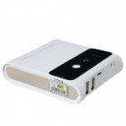 Sans fil Bluetooth Mini Laser Projection Keyboard virtuel w / 7800mAh Mobile Power Bank - Blanc