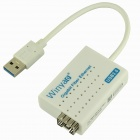 Winyao USB1000F Ethernet LAN-Realtek RTL8153 USB 3.0 Gigabit Fiber Network Card  - White