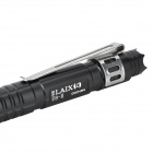 Laix B9 Retractable Clip-on Aluminum Self-Defense Emergency EDC Tactical Ink Pen - Black