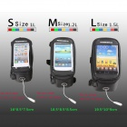 Roswheel Touch Screen Top Tube Saddle Bag for Cell Phone - Black (M)